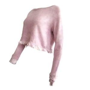 NEW Loveshackfancy Sweater Pullover Top Petite
